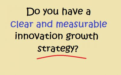 Clear and Measurable Innovation Strategy?